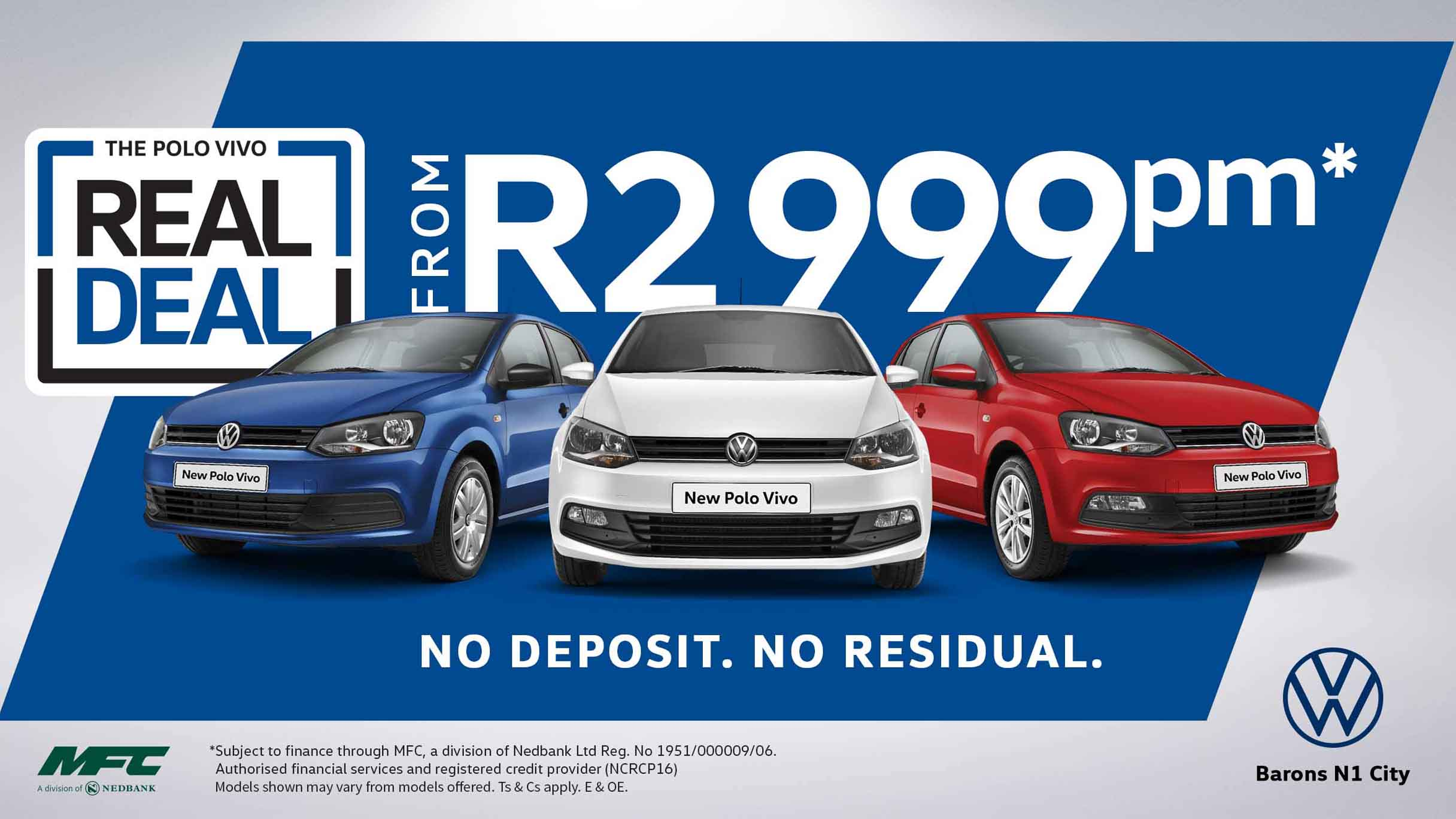 Polo Vivo special deal Barons N1 City.