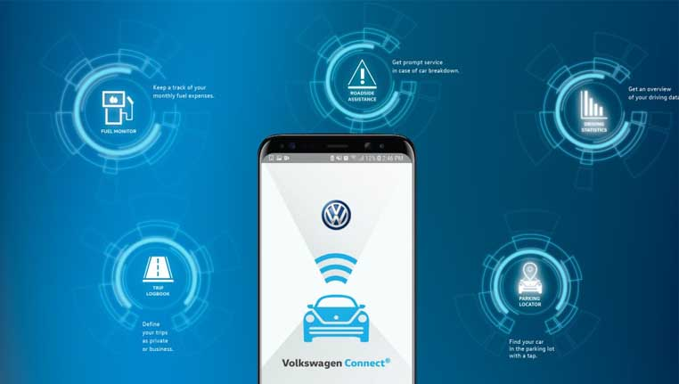 VW Connected car image